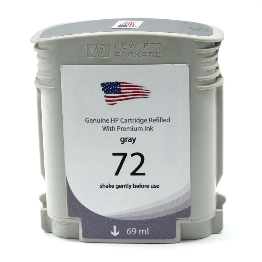 HP 72 Remanufactured Grey Ink Cartridge (C9401A)