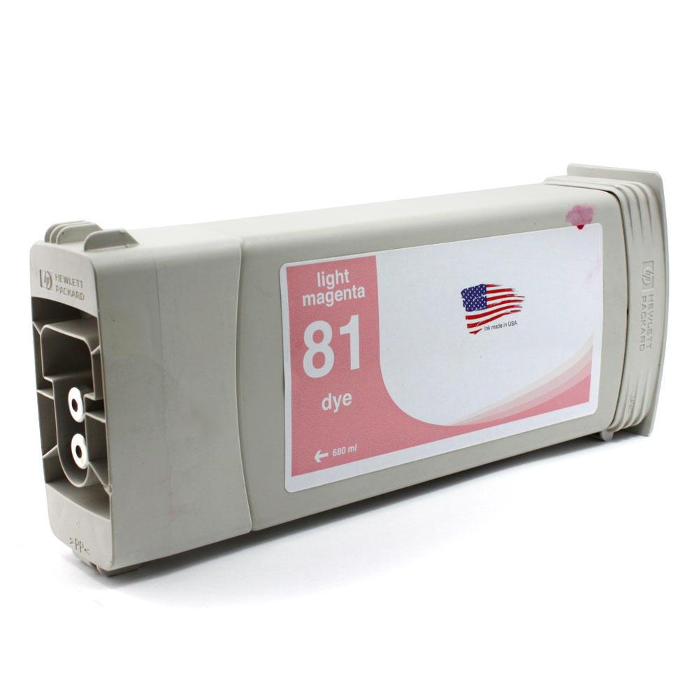 HP 81 Remanufactured Light Magenta Ink Cartridge (C4935A)