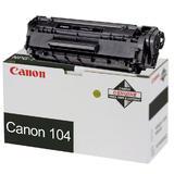 Canon 104 Original Black Toner Cartridge (0263B001AA)