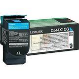 Lexmark C544X1CG Original High Yield Cyan Return Program Toner Cartridge