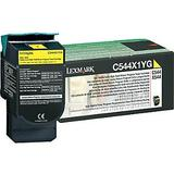Lexmark C544X1YG Original High Yield Yellow Return Program Toner Cartridge