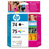 HP 74/75 CC659FC Original Black/Tri-Colour Ink Combo Pack