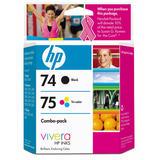 HP 74/75 CC659FC Original Black/Tri-Colour Ink Combo Pack