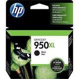 HP 950XL Original Black Ink Cartridge High Yield (CN045AN#140)