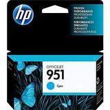HP 951 Original Cyan Ink Cartridge (CN050AN#140)