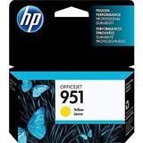 HP 951 Original Yellow Ink Cartridge (CN052AN#140)