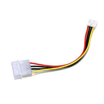 molex 5 25 male 3 5 female int dc power cable 6 inch medium 500f6 other brands cab 1318 power wire harnesses internal molex 5 25 male 3 5