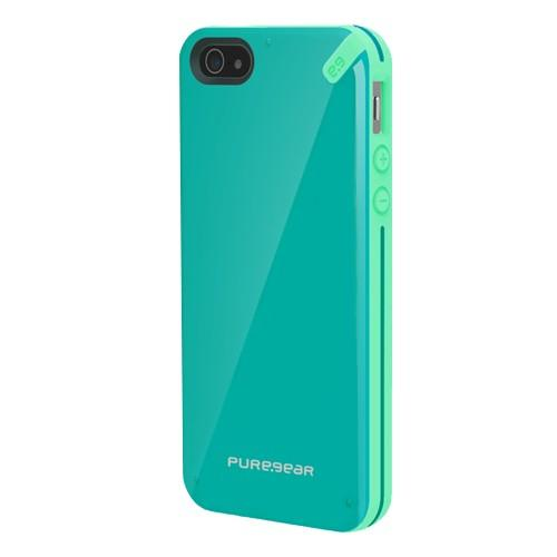PureGear Slim Shell Case for iPhone SE & iPhone 5/5S, Pistachio Mint
