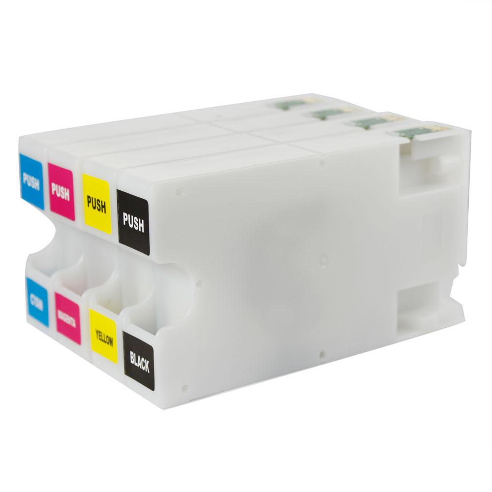 Sapiensman Printer Ink Toner And Office Supplies Tinta Pigment Epson Diamond Best Photo Quality Cartridge Gg 676xl New Compatible Cartridges Value Pack Bk C M Y