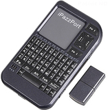 iPazzPort smallest 2.4g mini wireless    keyboard and mouse touchpad,with laser pointer.