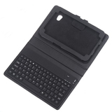 "New Arrival!Wireless Bluetooth Keyboard + Leather Case Stand for Samsung Galaxy Tab 7"" GT-P6210 (video presentation)"