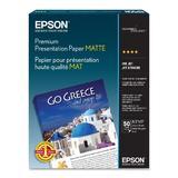 "EPSON S041257 50 Sheets Premium Presentation Paper, 8.5"" x 11"""
