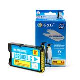 Lexmark 14L0198 A Version New Compatible Cyan Ink Cartridge - G&G™(14L0651/14L0651)
