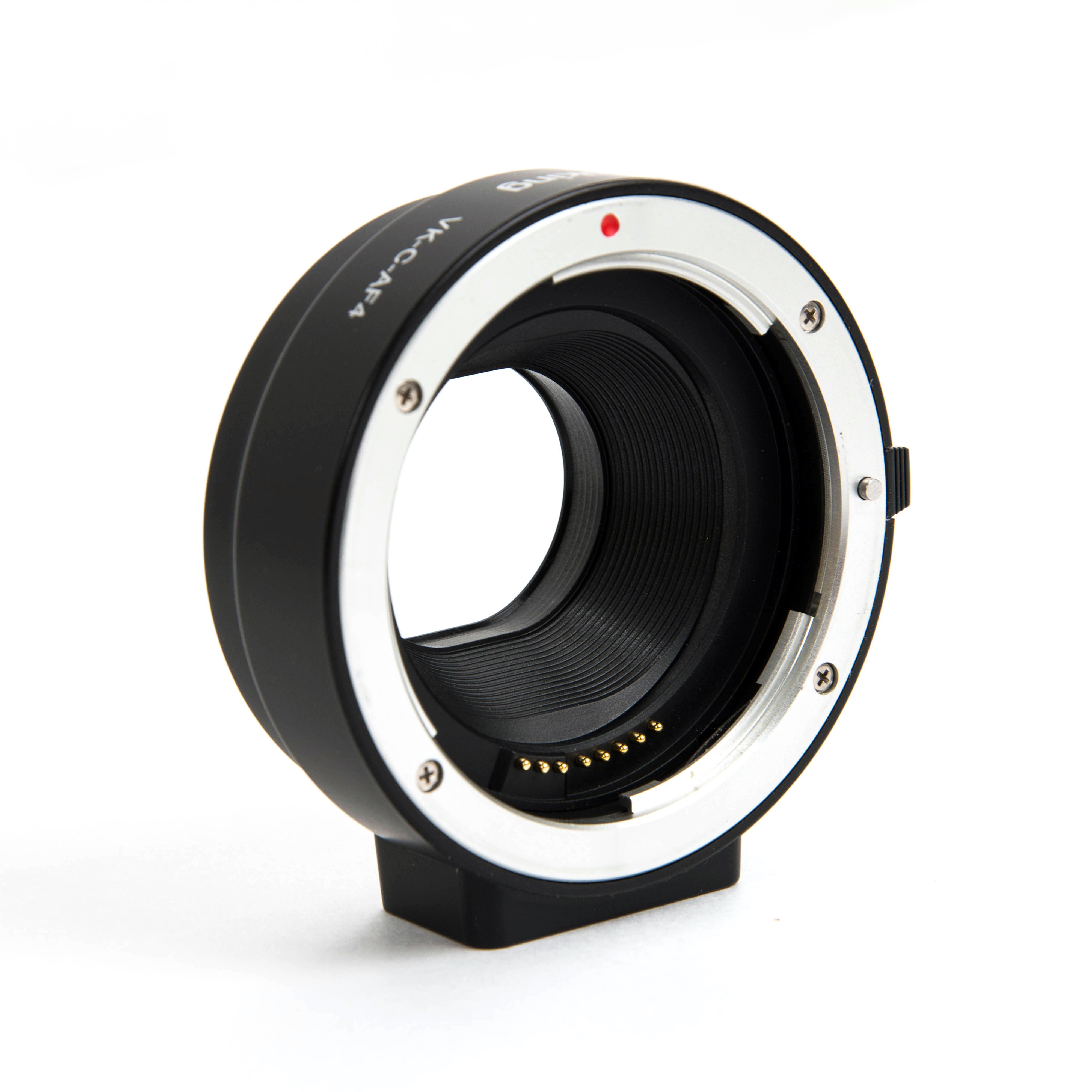 Voking Lens Mount Adapter, Canon EF / EF-S Lens to Canon EF-M Camera VK-C-AF4
