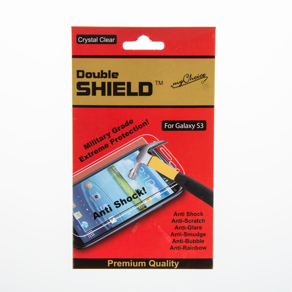Double Shield Anti-Shock Screen Protector for Samsung Galaxy S3