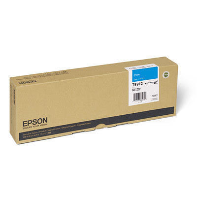 Epson T591200 Original Cyan UltraChrome Ink Cartridge