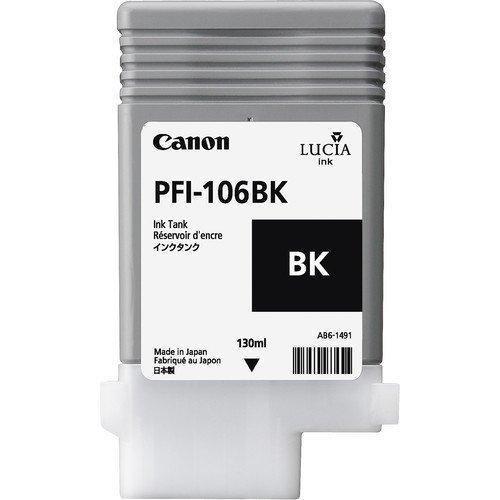 Canon 6621B001AA (PFI-106BK) Original Black Ink Cartridge (130ml)