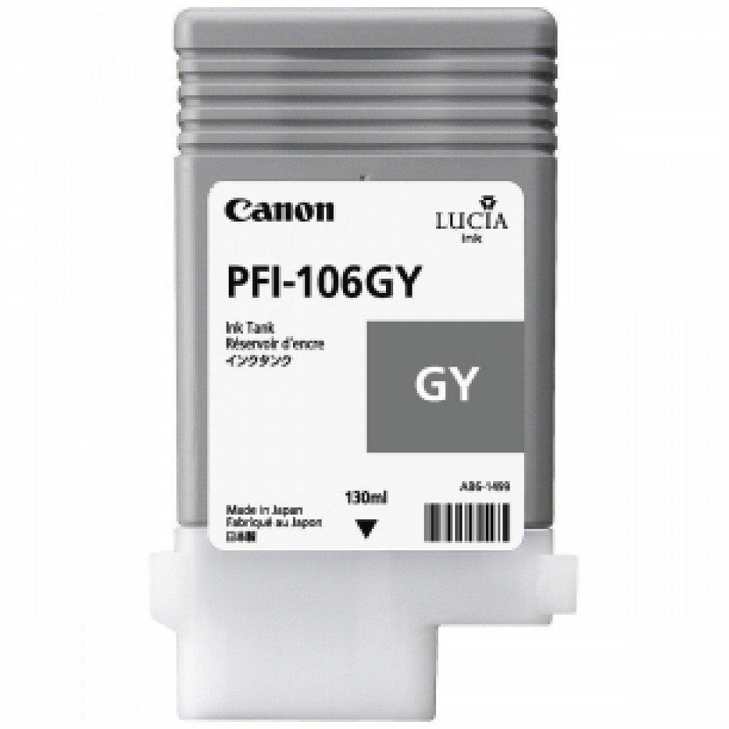 Canon 6630B001AA (PFI-106GY) Original Grey Ink Cartridge (130ml)