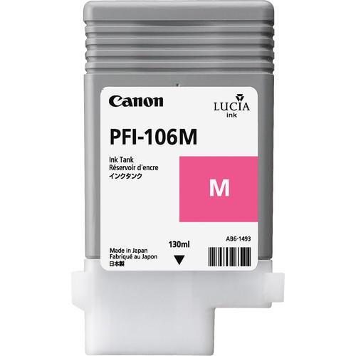 Canon 6623B001AA (PFI-106M) Original Magenta Ink Cartridge (130ml)