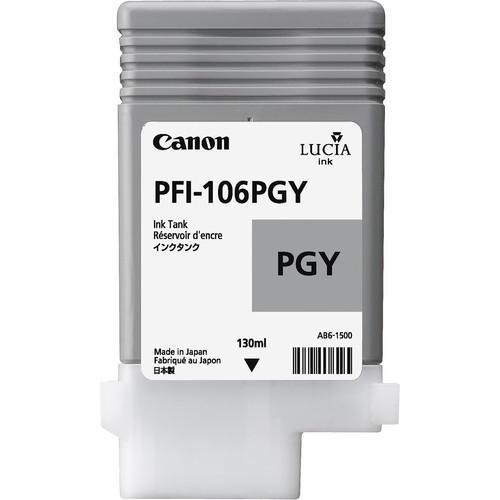 Canon 6631B001AA (PFI-106PGY) Original Photo Grey Ink Cartridge (130ml)