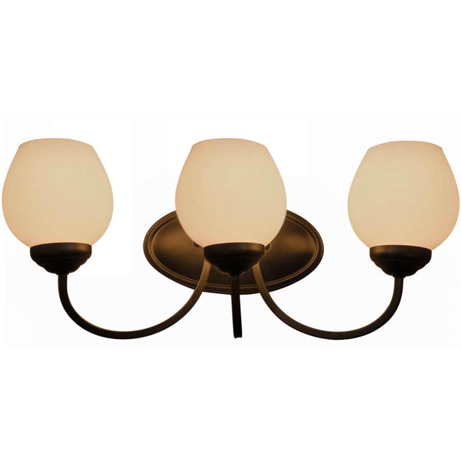 Mangnolia Lighting Collection Bronze Finish 3 Lights Wall Lamp