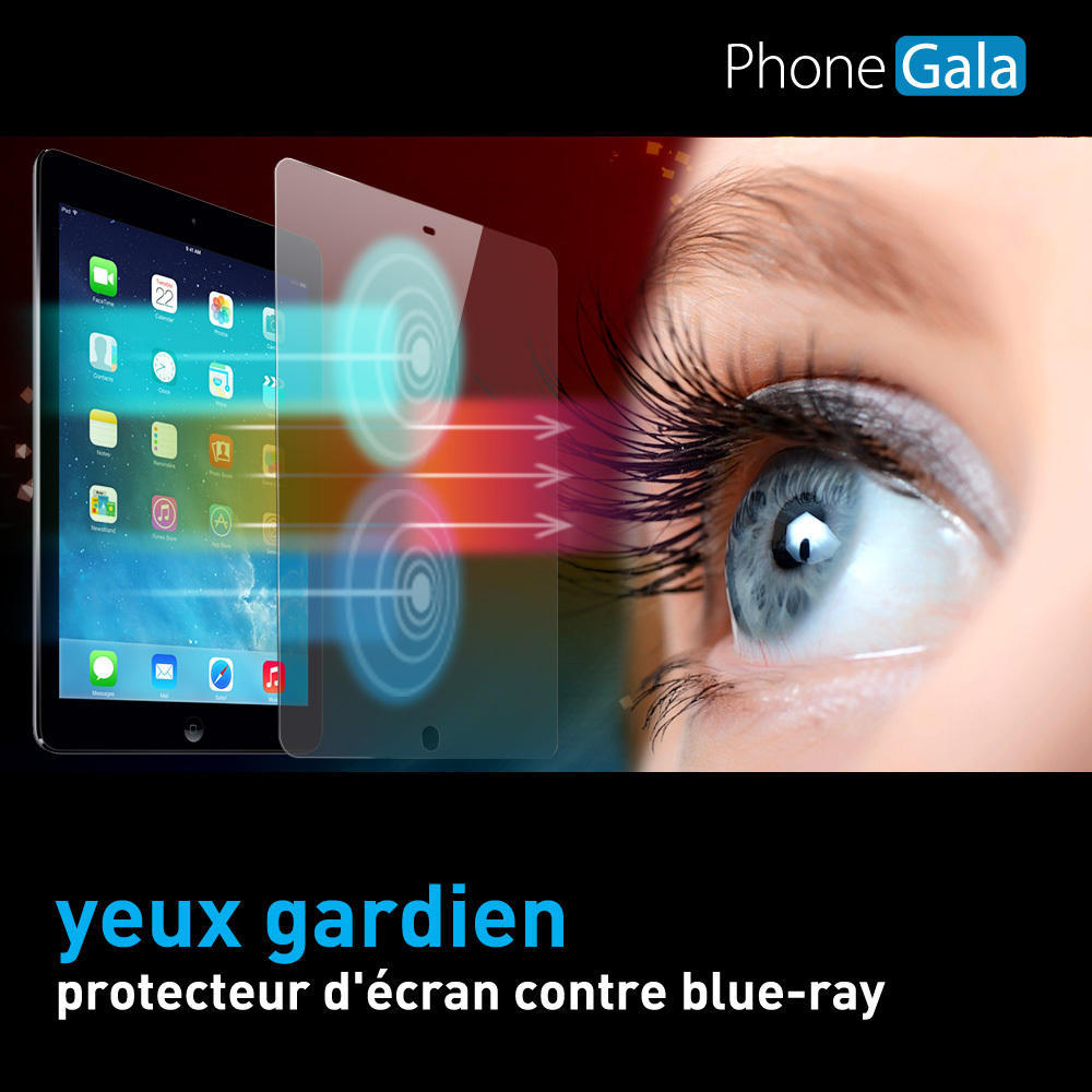 iPad mini / iPad mini Retina Anti Blue Ray Eyes Protection Transparent Screen Protector SP-BRiPdmini
