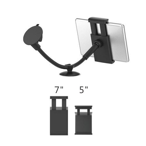 Universal 5''-7'' Adjustable Hands Free Windshield Car Mount Holder with Double Suction Cup LM-Tab7-WSHolder
