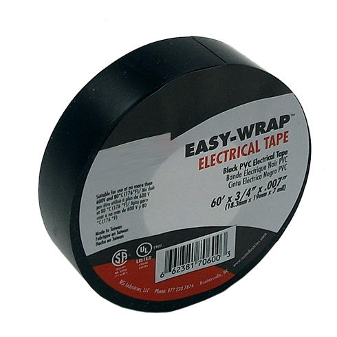 Electrical Tape 3/4-Inch x 60-Feet 7mil