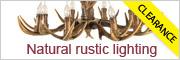 antler deer lighting clearance
