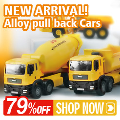 Alloy pull back Cars