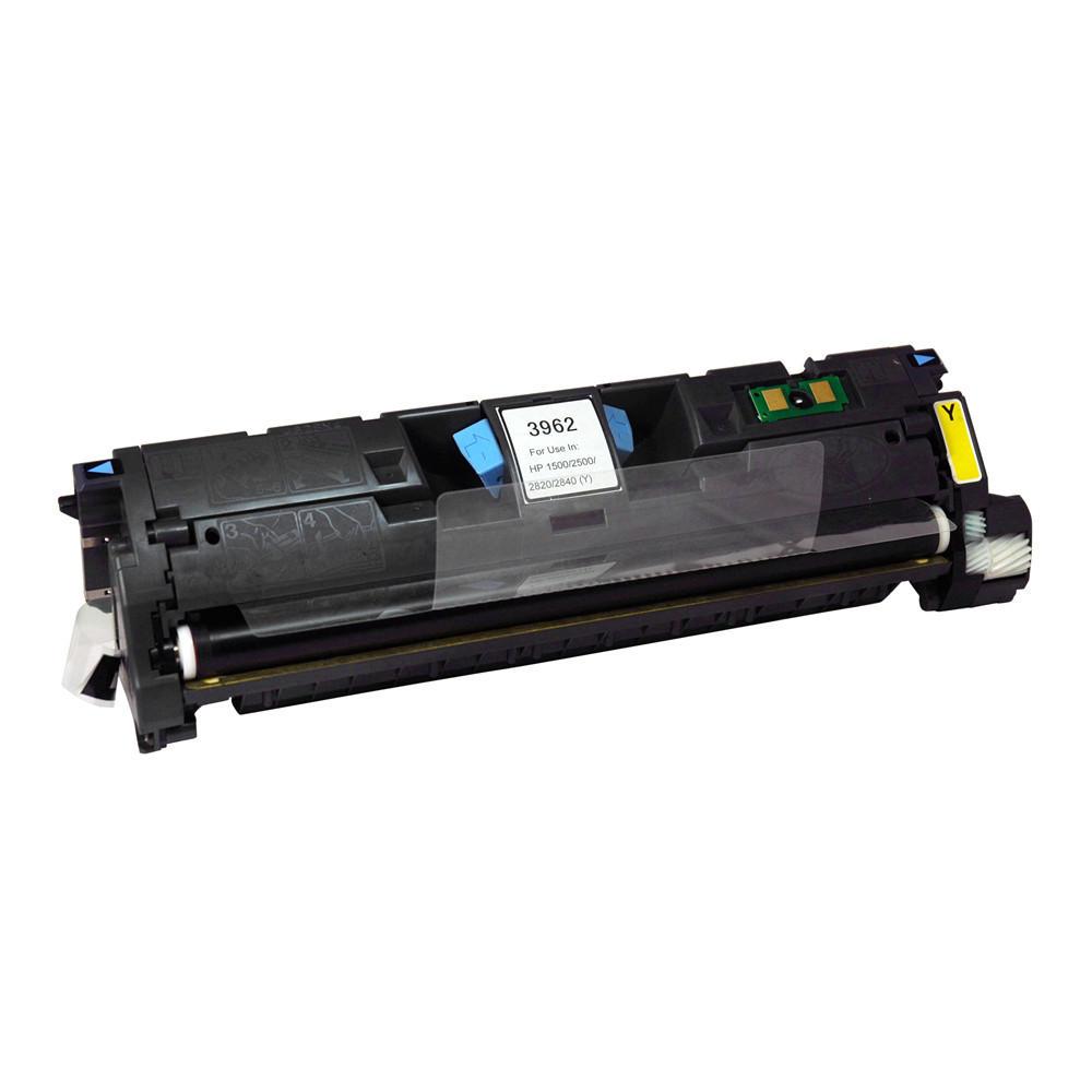 HP 122A Q3962A New Compatible Yellow Toner Cartridge