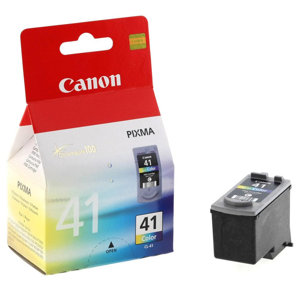 Canon CL-41 Original Color Ink Cartridge (0617B002)