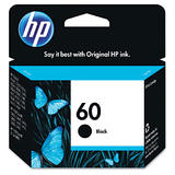 HP 60 CC640WN Original Black Ink Cartridge (CC640WC #140)