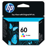 HP 60 CC643WN Original Tri-Colour Ink Cartridge (CC643WC #140)