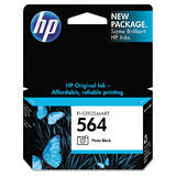 HP 564 Original Photo Black Ink Cartridge (CB317WC / CB317WN)