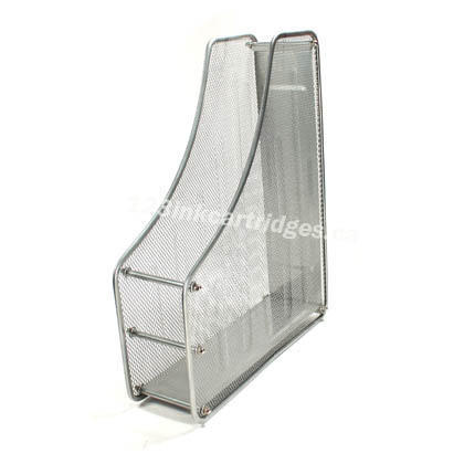 Single Metal Magazine File Holder, 2 Colors Available