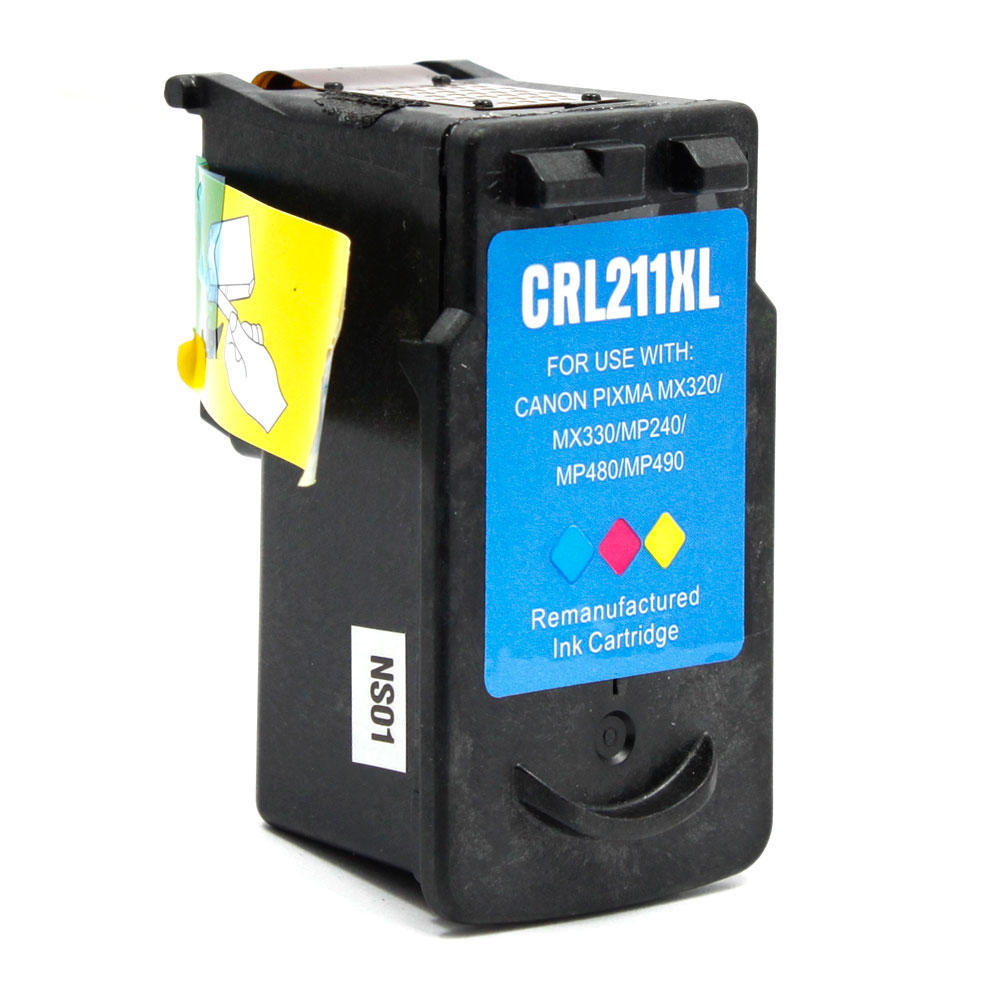 Canon CL-211XL Remanufactured Color Ink Cartridge(High Yield)