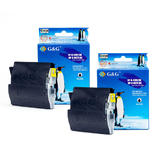 Brother LC51 New Compatible Black Ink Cartridge (Twin Pack) - G&G™
