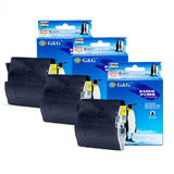 Brother LC51 New Compatible Black Ink Cartridge (Tri Pack) - G&G™