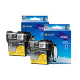 Brother LC61 New Compatible Black Ink Cartridge (Twin Pack) - G&G™