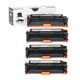 HP 304A New Compatible Toner Cartridge Combo Set - Moustache®