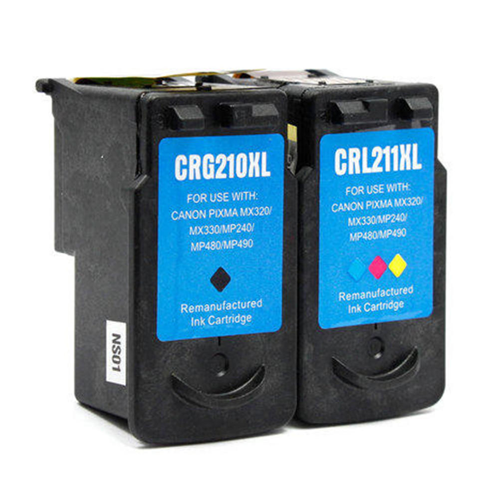Canon PG-210XL/CL-211XL Remanufactured Ink Cartridge Combo Set PG210XL CL211XL R Combo