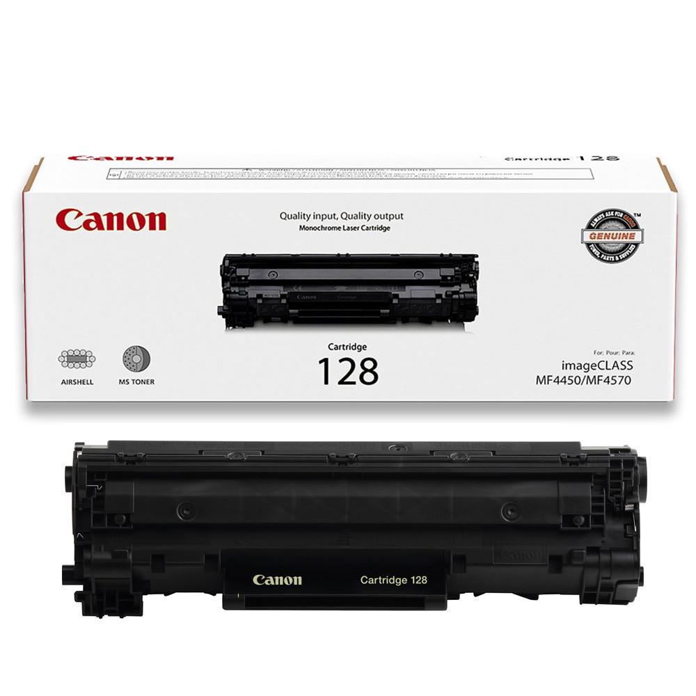 Canon 128 Original Black Toner Cartridge (3500B001AA)