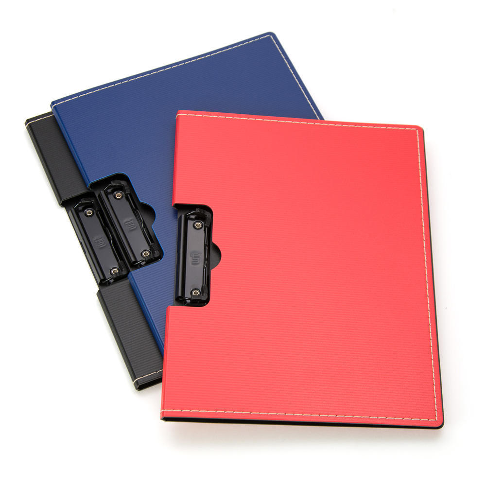 Elite Creative High Quality Hard Plastic Clip Board, 3 Colours Available, 1 cover per pack