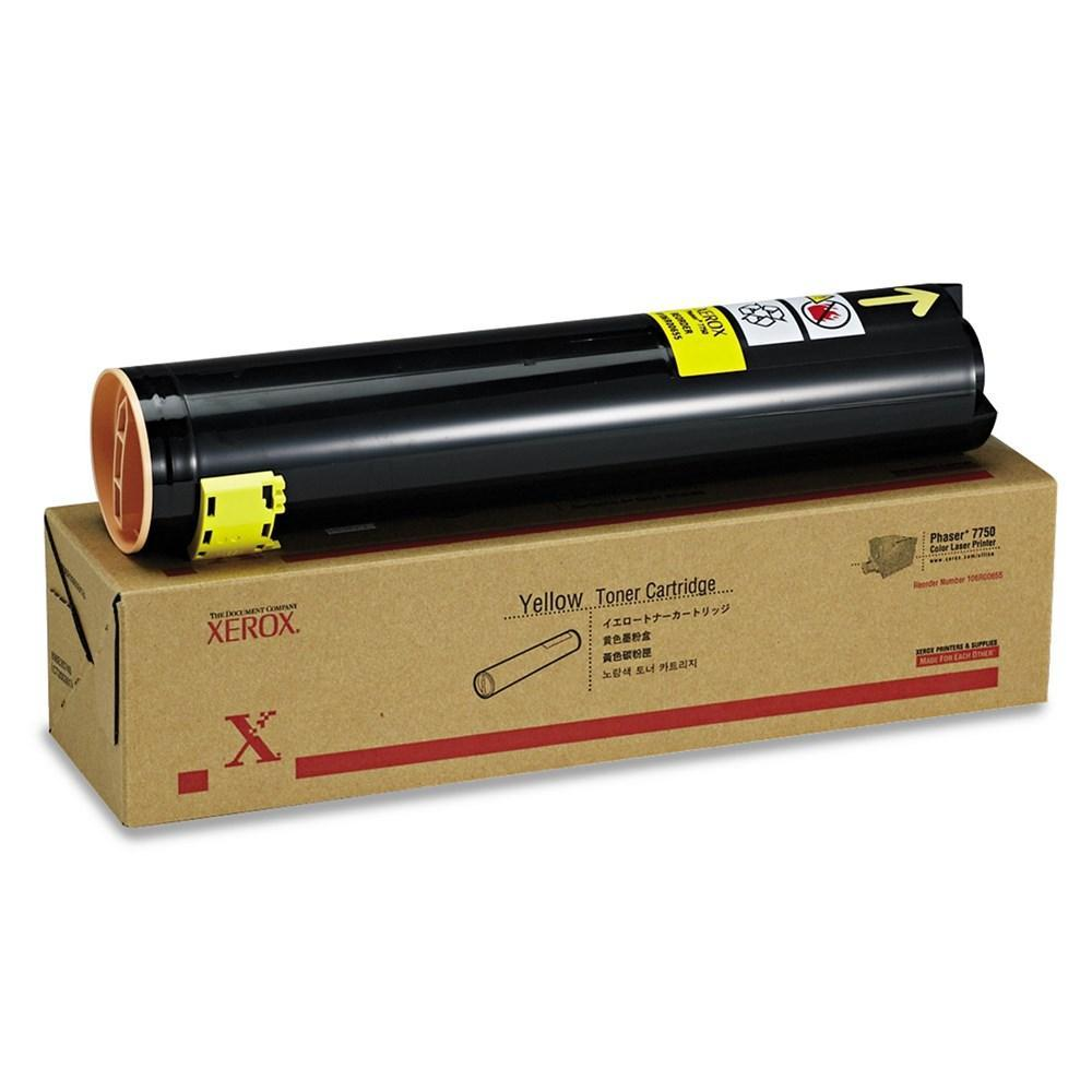 Xerox 106R00655 Original Yellow Toner Cartridge