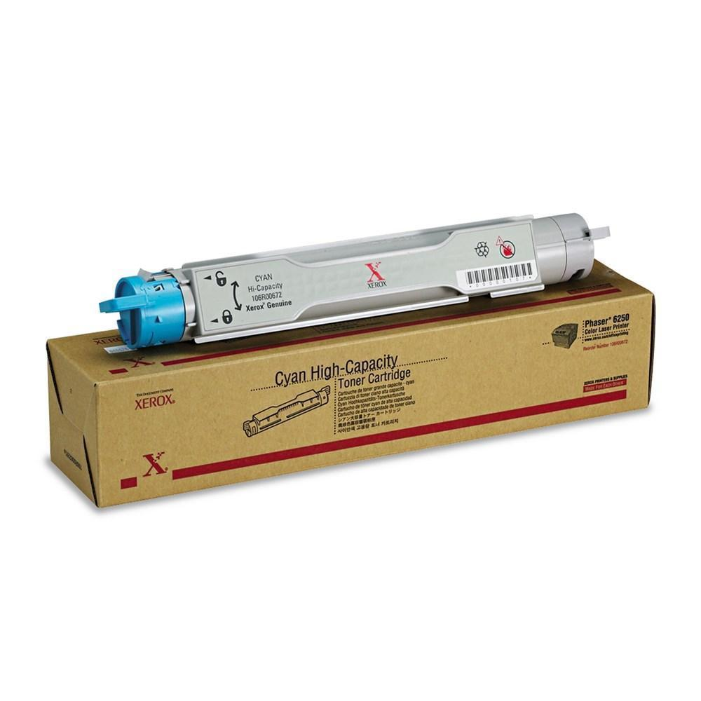 Xerox 106R00672 Original Cyan High Capacity Toner Cartridge
