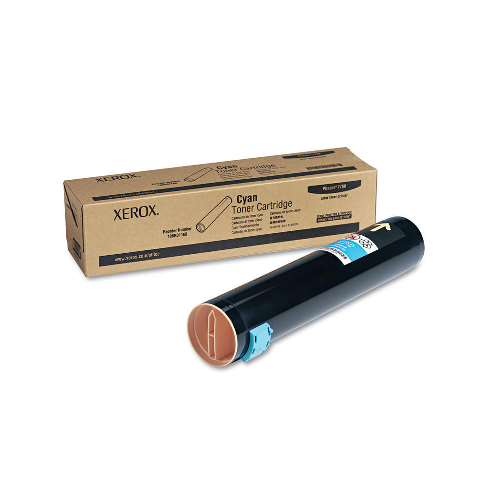 Xerox 106R01160 Original Cyan Toner Cartridge