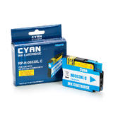 HP 933XL (CN054AN) Remanufactured/Compatible Cyan Ink Cartridge High-Yield