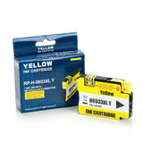 HP 933XL (CN056AN) Remanufactured/Compatible Yellow Ink Cartridge High-Yield