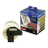 Brother DK2205 Original Continuous Length Label, 2-3/7'' x 100' (62mm x 30.48m), Black on White